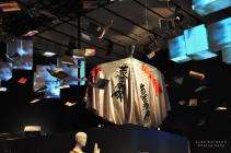 Kanji Cloak, 1973 Kansai Yamamoto display