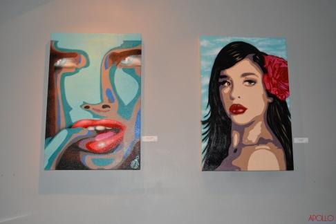 Abstract Women & Dreamy Girl